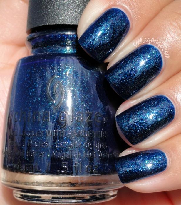 China Glaze Blue-Ya 1