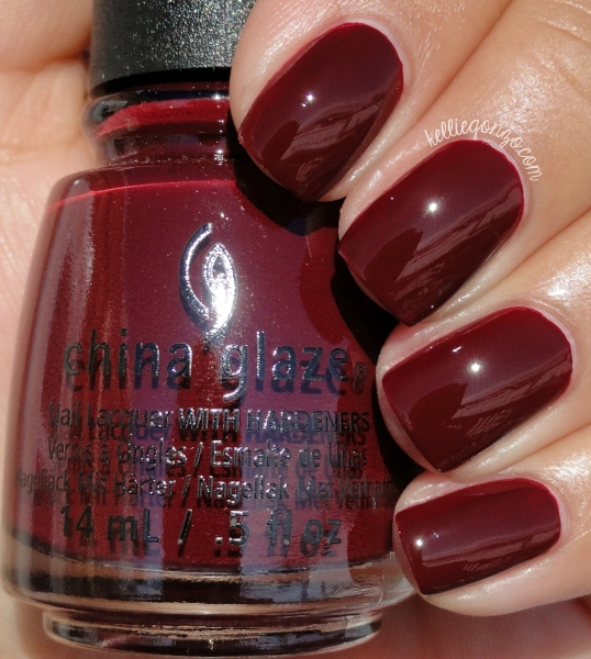 China Glaze Wine Down for What? 1