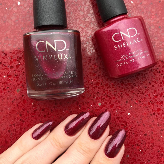 CND Shellac Rebellious Ruby 1