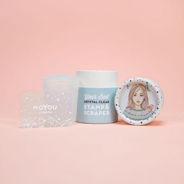MoYou Crystal Clear Stamper & Scraper 2