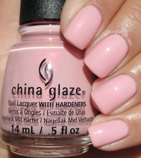 China Glaze Eat Pink Be Merry 1