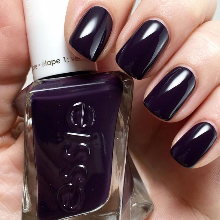 Essie Gel Couture Amethyst Noir 1