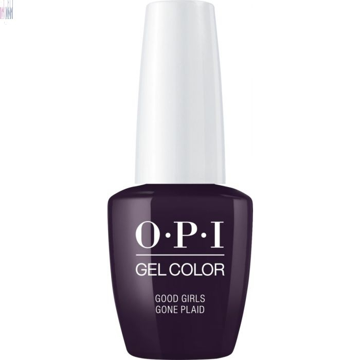 OPI GelColor Good Girls Gone Plaid 0