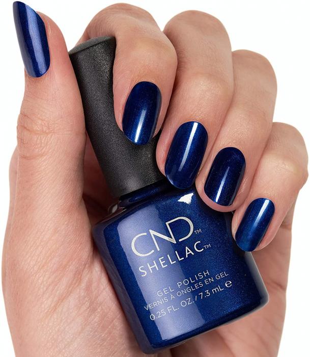 CND Shellac Sassy Sapphire 1