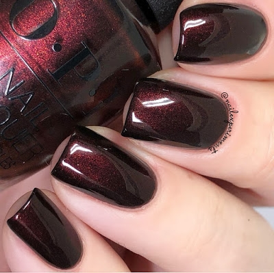 OPI Black to Reality 2