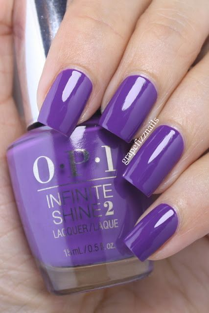 OPI Infinite Shine Purpletual Emotion 2
