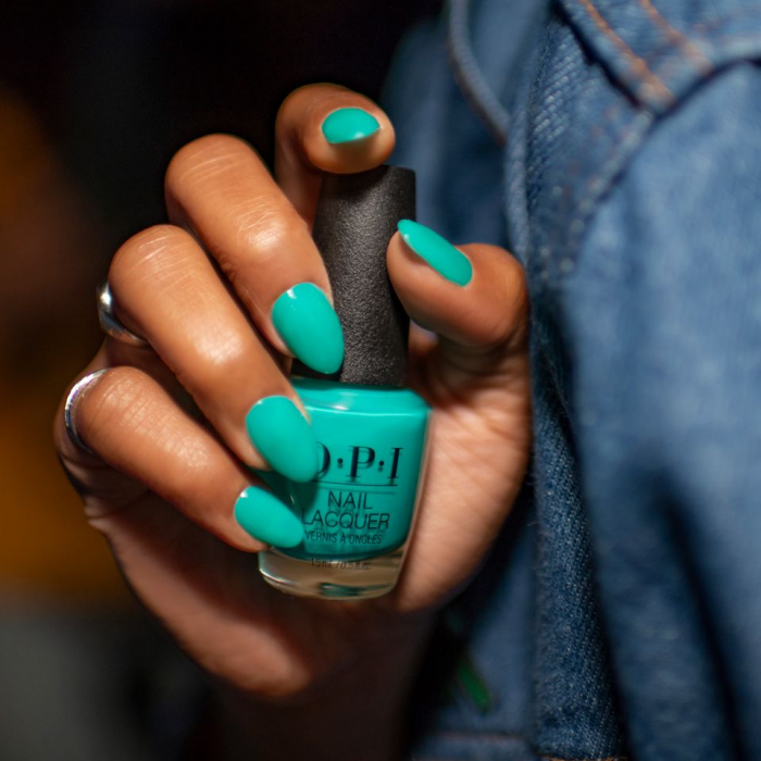 OPI Infinite Shine Dance Party Teal Dawn 1
