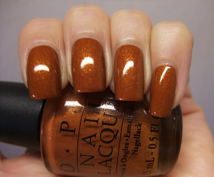 OPI Bronzed to Perfection 1