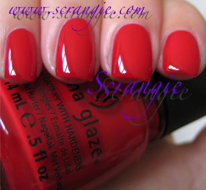China Glaze Poinsettia 2