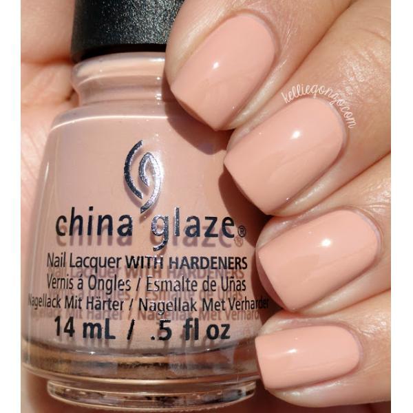 China Glaze Sorry I'm Latte 1