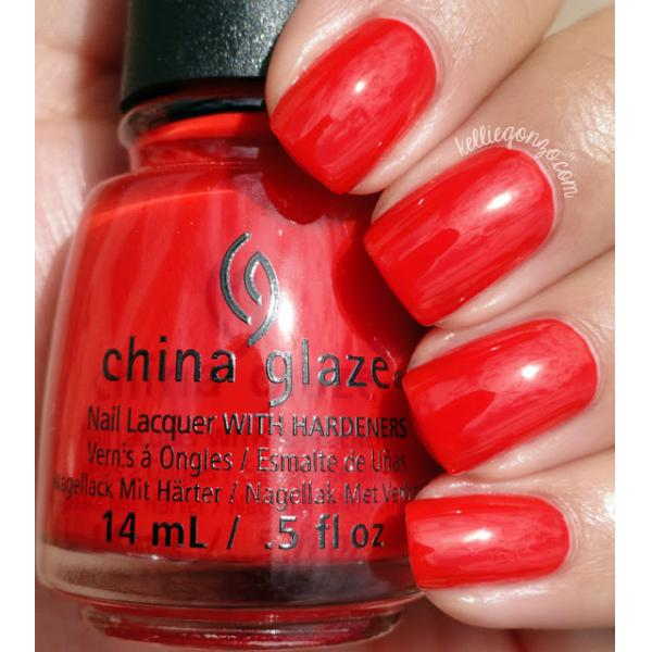 China Glaze The Heat is On 1