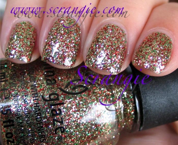 China Glaze Seasonal Sparkles 3