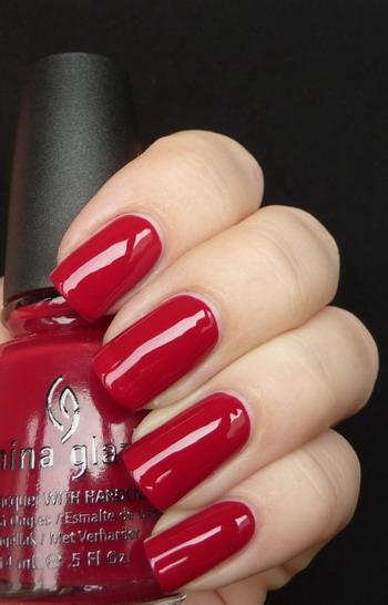 China Glaze Holly Bear-y 2