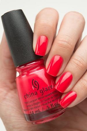 China Glaze Hot Flash1