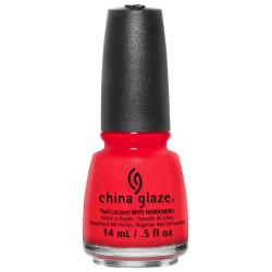 China Glaze The Heat is On0