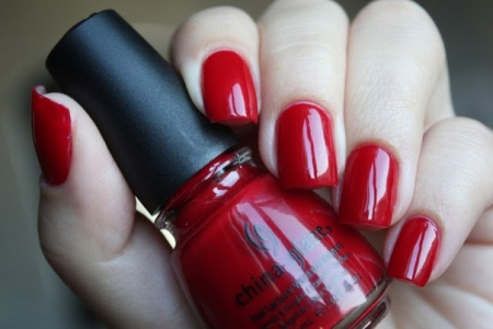China Glaze China Rouge1