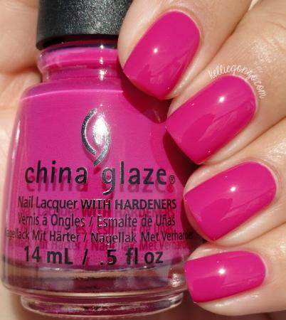 China Glaze In the Near Fuchsia1