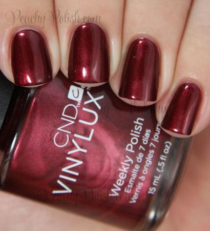 CND Vinylux Crimson Sash1