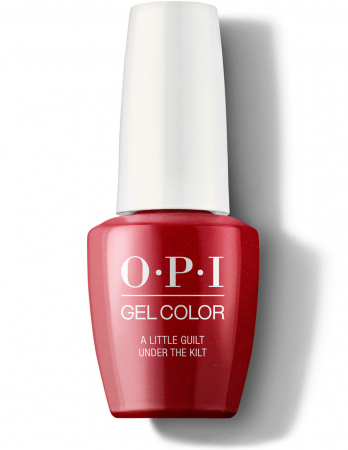 OPI GelColor A Little Guilt Under the Kilt0