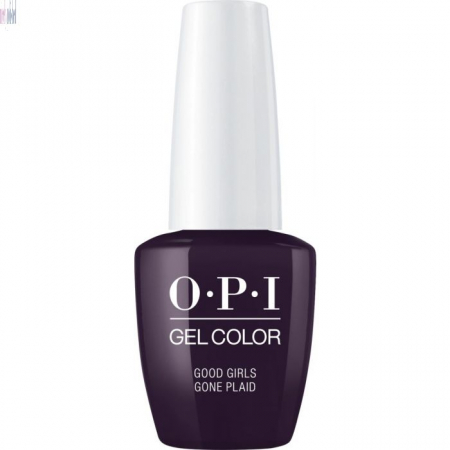 OPI GelColor Good Girls Gone Plaid0