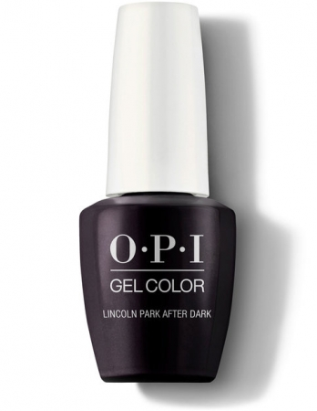 OPI GelColor Lincoln Park After Dark0