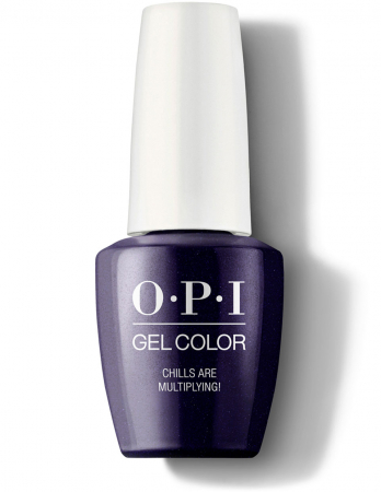 OPI GelColor Chills Are Multiplying0