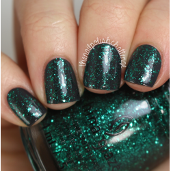 China Glaze Pine-ing for Glitter1