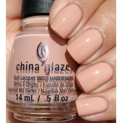 China Glaze Sorry I'm Latte1