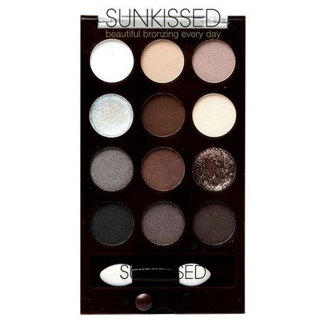 SUNKissed Ready For Anything Eye Palette - paleta cu 12 farduri mate si metalice [0]