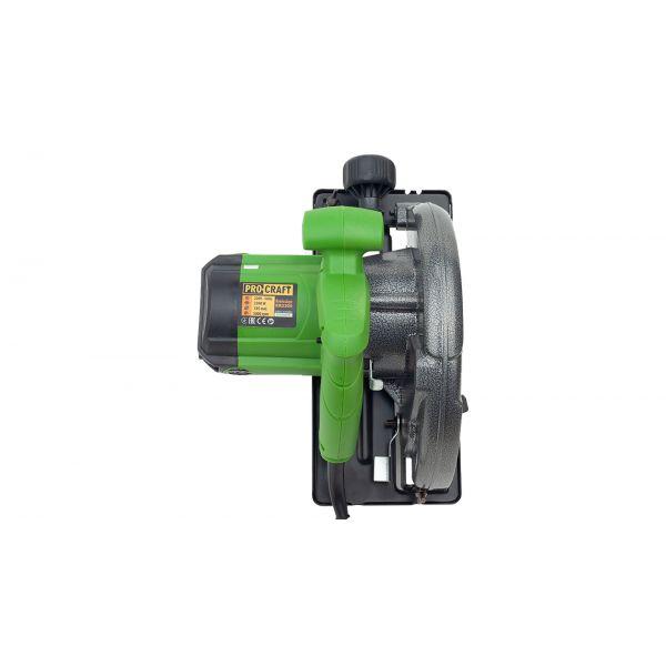 Circular electric de mana Procraft KR2300, 2.3 kW, 185 mm, 5000 rot/min [2]