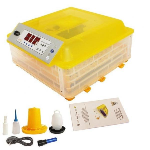 Incubator Oua 48 Gaina sau 132 Prepelita, Complet Automat Temperatura, Umiditate, Intoarcerea Oua [0]