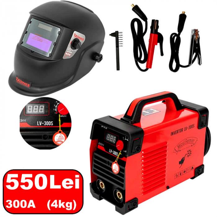 Invertor sudura 300A Micul Fermier LV300S + Masca LCD [0]