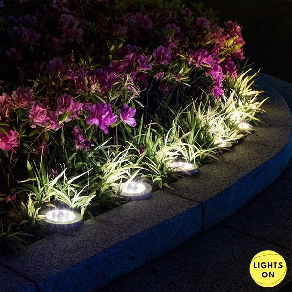 Set 4 bucati lampi cu incarcare solara 8 LED [2]