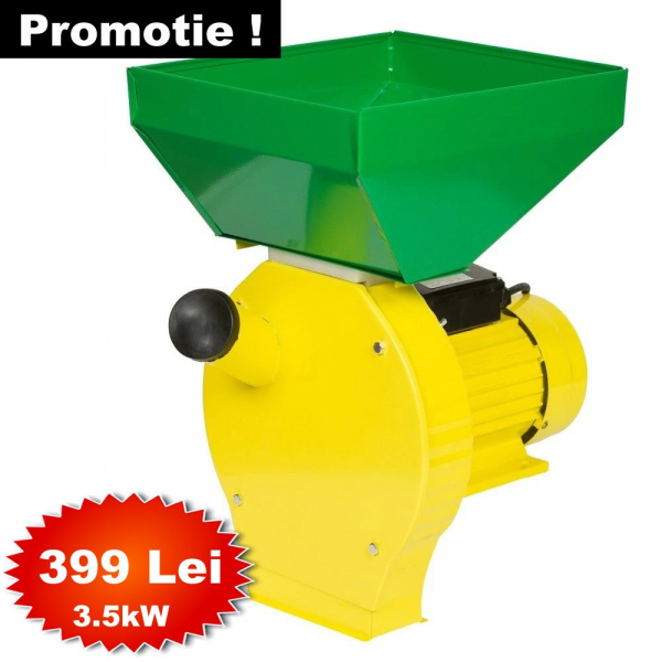 Moara cereale Procraft ME3500 200KG/H, 3.5KW, cu 20 ciocanele pentru uruiala [0]