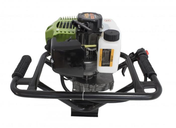Motoburghiu Procraft 2.5CP, 150x800mm burghiu inclus [2]