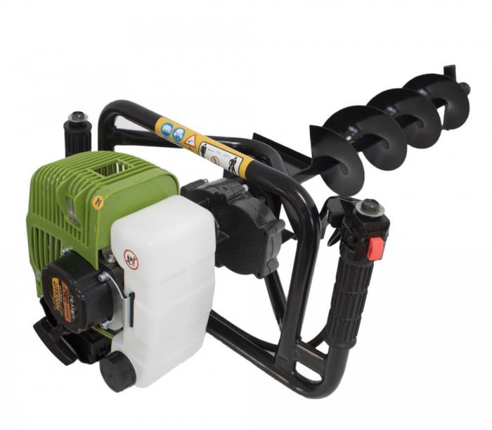 Motoburghiu Procraft 2.5CP, 150x800mm burghiu inclus [7]