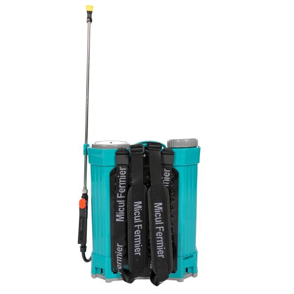 Pompa stropit electrica Pandora 16 Litri, 5 Bar,  + regulator presiune, vermorel cu baterie acumulator [2]
