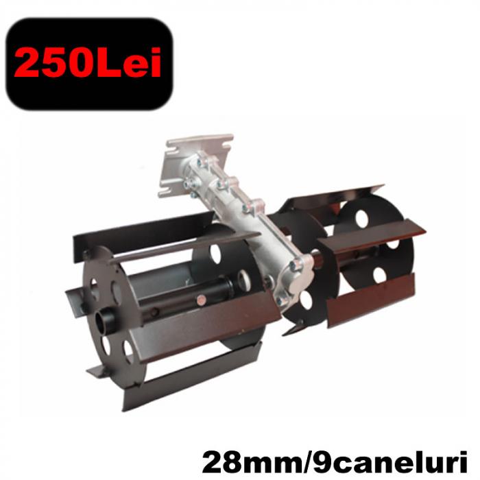 Prasitoare 28mm*9T (eco) pentru motocositoare [0]