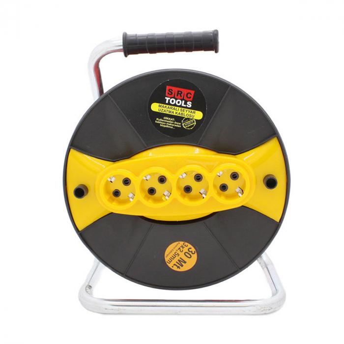 """Prelungitor cu tambur 3 X 2,5"""" 30M [0]"""