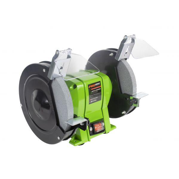 Procraft Industrial PAE 1350, polizor de banc, 200 mm, 1350 W, 2950 rpm [1]