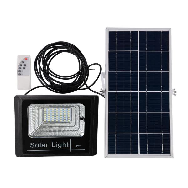 Proiector 25w, LED SMD, Panou Solar si Telecomanda cu functii multiple [3]