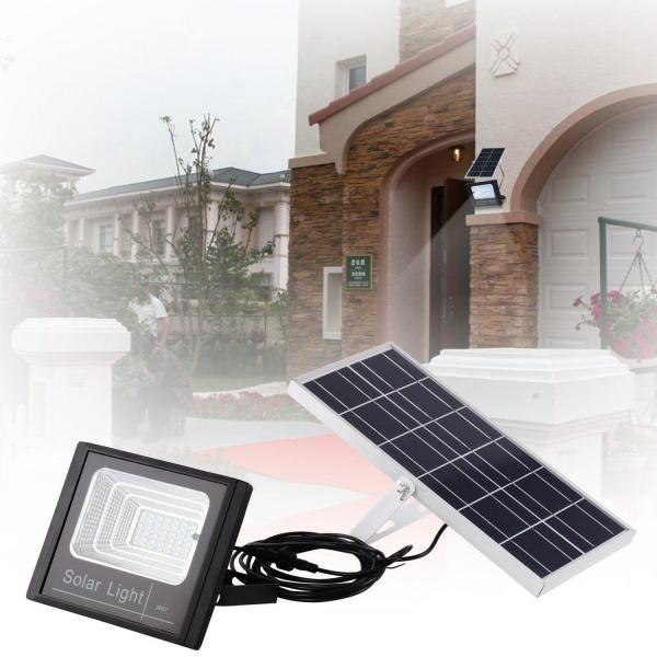 Proiector 25w, LED SMD, Panou Solar si Telecomanda cu functii multiple [2]