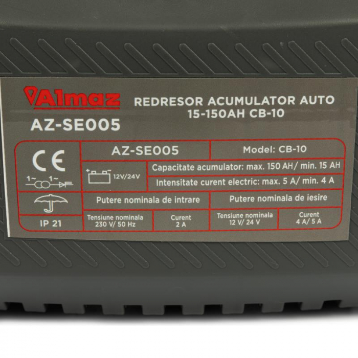 Redresor acumulator auto 30-150Ah CB-10 AZ-SE005 [4]