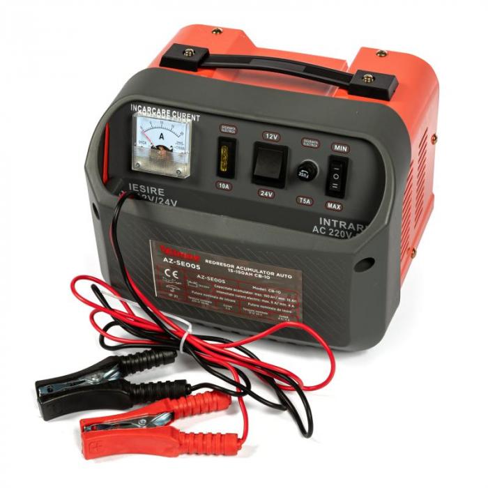 Redresor acumulator auto 30-150Ah CB-10 AZ-SE005 [0]