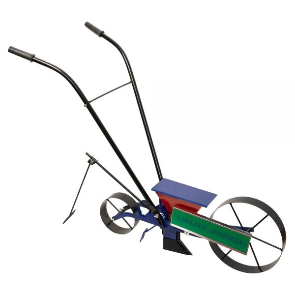 Semanatoare mecanica Vinita tip bicicleta prod. Ucraina 18 mm [0]