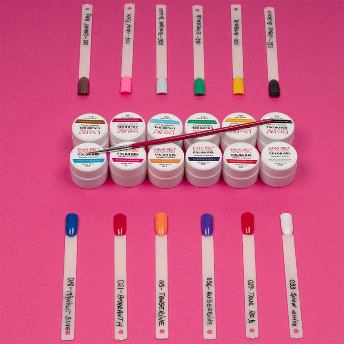 Set 12 geluri UV Color ENS PRO Magic Nails + CADOU [1]