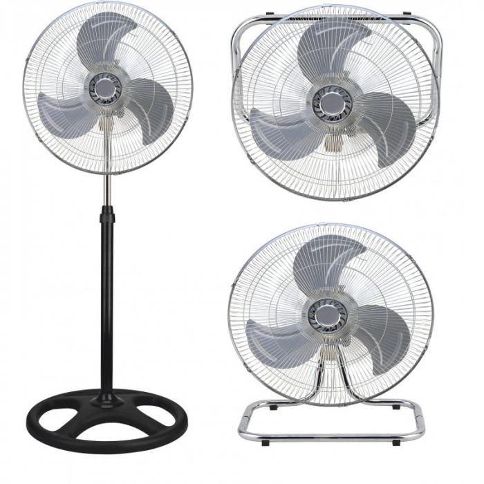 Ventilator cu picior 3 in 1, elice metalica, 45 cm, 75 W, Victronic SF4502 [0]