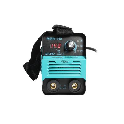 Aparat de sudura MMA-140 DETOOLZ, putere absorbita 6,1kVA, eficienta 80%, diametru electrod 1,6-3,2mm [1]