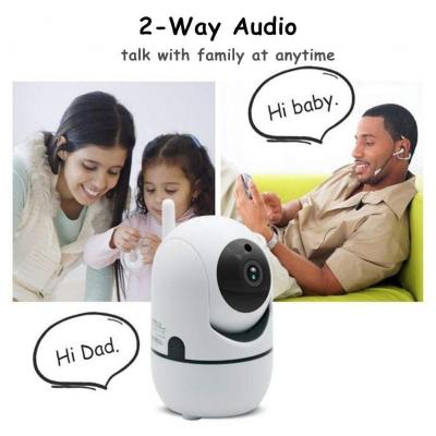 Camera de supraveghere HD cu senzor miscare, WiFi, vedere nocturna, sunet bidirectional [1]