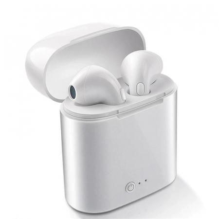 Casti wireless Bluetooth 5.0 i7s TWS - aspect elegant, sunet excelent [3]